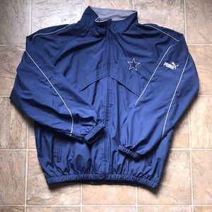 Vintage Puma Dallas Cowboys Jacket